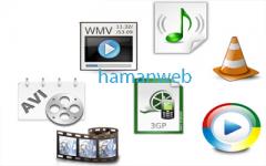 عناصر تصویر و مدیا html