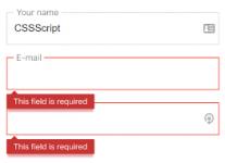 احراز هویت فرم با js